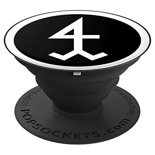 Steinmetz | Bildhauer | Zunftzeichen | Zunftwappen - PopSockets Ausziehbarer Sockel und Griff für Smartphones und Tablets