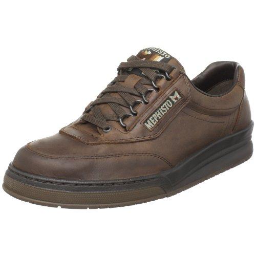 Mephisto Men's Match Oxfords Shoes, 9 D(M) US, Dark Brown Vintage