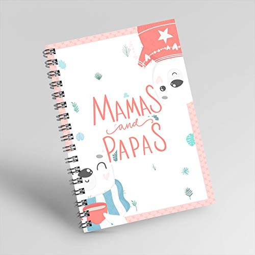 No.37 Notebook for mama, notebook for papa, size 6-9, 200 pages, soft cover, Notebook used to write your gratitude diary to your Parents. (English Edition)