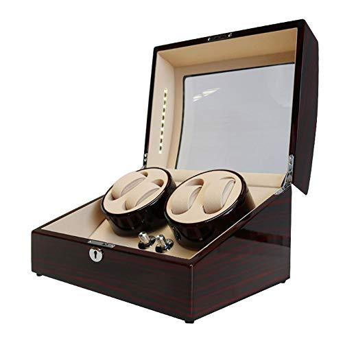 zyy Cajas Giratorias para Relojes, Automático Motor Silencioso 5 Modo De Rotacion 4 + 6 Caja de Reloj