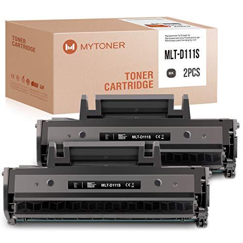 MYTONER Compatibile Samsung MLT-D111S MLT-D111L D111S Toner per Samsung Xpress M2026w M2022w M2070 M2070fw M2020w, 1000 Seiten (Nero, 2 Pack)