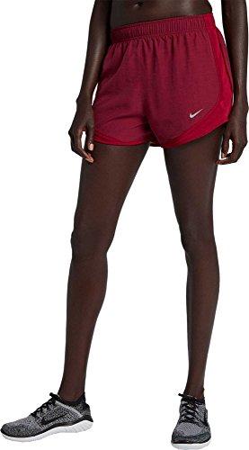 Nike Women's Dry Tempo Short Red Crush/Red Crush/Red Crush/Wolf Grey X-Large 3