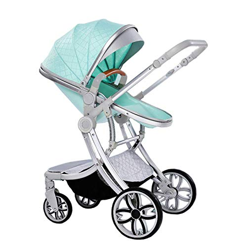 Best Deals! MEI Baby Trolley Two Way Fashion Strollers 2 in 1 Baby Pushchairs Newborn Prams Toddlers...