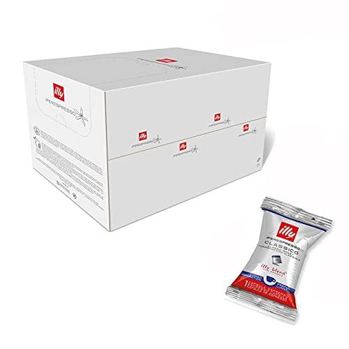illy Espresso illy Kaffee, Iperespresso Kaffeekapseln Lungo, klassische Röstung - 1 Verpackung mit 100 Kaffeekapseln, 620 g