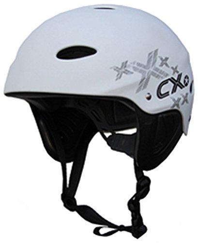 Concept X Kite + Surf Casco CX Pro Casco de Deportes de Agua White/Negro/Carbon (Blanco, XS)