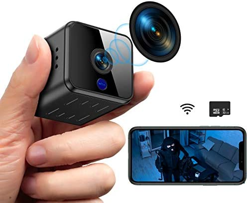 Mini Hidden Spy Camera WiFi Night Vision HD 1080P Motion Detection Small Video Camera Security product image
