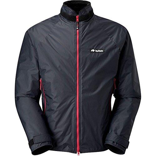 Buffalo Belay Windproof Jacket Medium Black with Red Zips