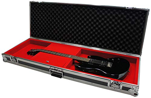 Harmony HCGTRB New Flight Hard Custom Case Compatible with Most Electric Guitars