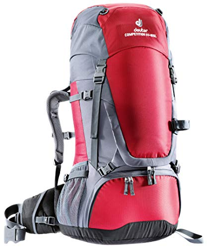 Deuter Damen Trekkingrucksack Competition 55+10 rot (500) 55