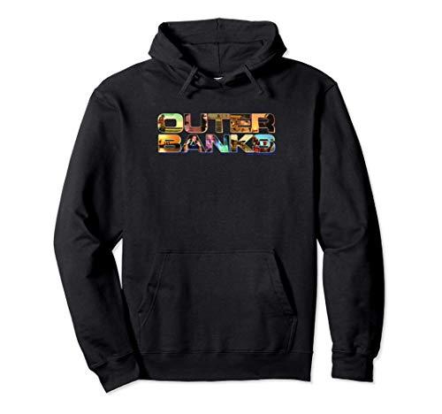 Outer Banks Photo Logo Fill Felpa con Cappuccio
