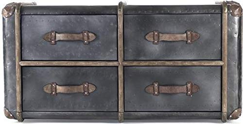Affordable EuroLuxHome Chest Augustine Iron New
