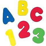 Brinquedo de Banho Letras e Números, Buba, Colorido