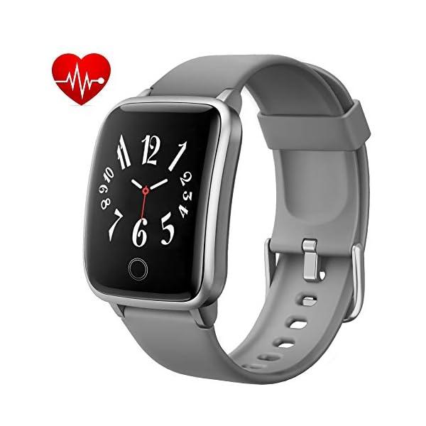 Lintelek Smartwatch Fitness Armband IP68 Wasserdicht