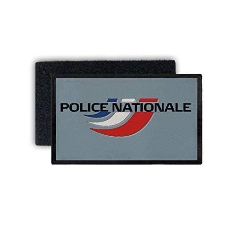 Copytec 7.5x4.5cmPatch Police Nationale Polizei Frankreich Sûreté Abzeichen # 33894