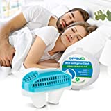 Anti Snoring Devices[Upgrade 2-in-1]Snoring Solution Snore Stopper Nose Vents Plugs Clip Air Purifier,Anti Snoring Devices Stop Snoring Sleep Aid Nasal Dilator Snore Reducing Aids for Men Women