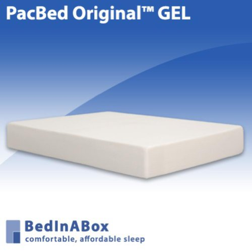 BedInABox PacBed Original 11' Gel Memory Foam Bed Mattress (Queen)