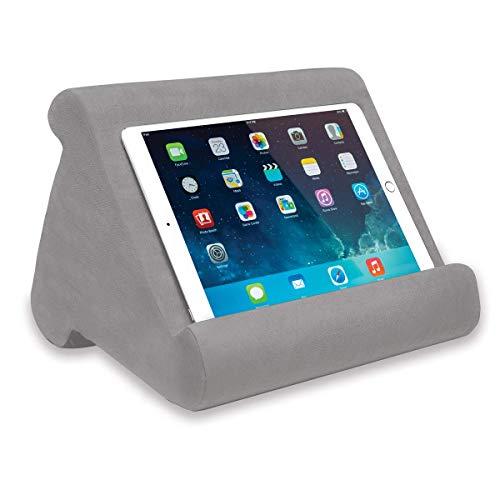 JUNMA Pill-O-Pad, elegante y hermoso soporte triangular suave y cómodo para tableta, teléfono móvil, libros y lectores electrónicos