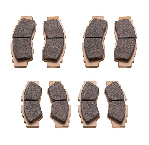 Race Driven MudRat Front and Rear Brake Pads for Yamaha YXZ1000R SS SE