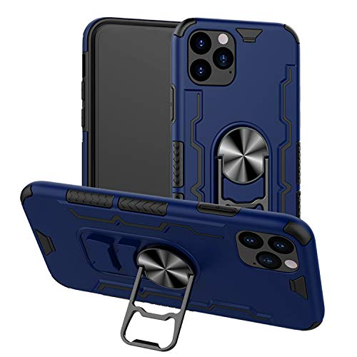 CelPro iPhone 11 & 11 Pro Protective Carrying Case with Beer Bottle Opener Kickstand Magnetic Mount. Soft Grip, Full Body Rugged Shockproof Anti Drop Protection for Your Phone (Blue, iPhone 11 Pro)