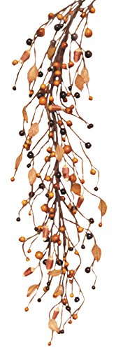 CWI Gifts Primitive Candy Corn Garland, 4-Feet