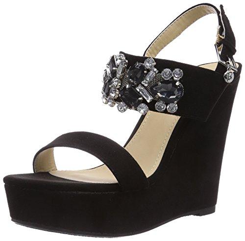 Blink BL 415, Sandales pour Femme - Noir - Schwarz (black01), Taille 38 EU
