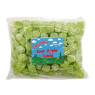 ellies jellies® sour apple cubes 1kg bag Ellies Jellies® Sour Apple Cubes 1kg Bag 411mu0qdqPL