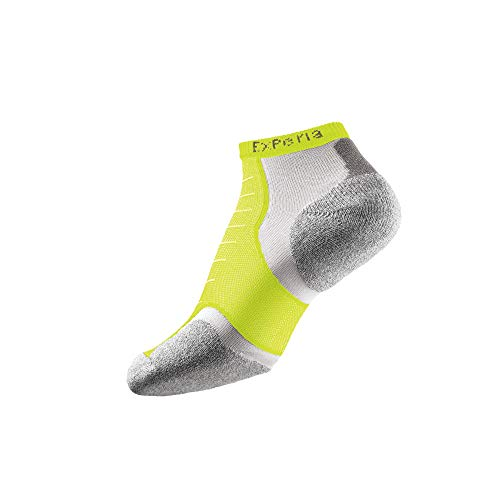 Thorlos Experia Xccu Slim Cushion Running Low Cut Socken - Gelb - Large