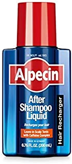 Sponsored Ad - Alpecin After Shampoo Caffeine Liquid, Scalp Tonic for Men`s Thinning Hair Growth, Sulfate Free with Castor...