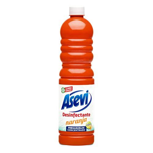 Fregasuelos Desinfectante Asevi Naranja 1L