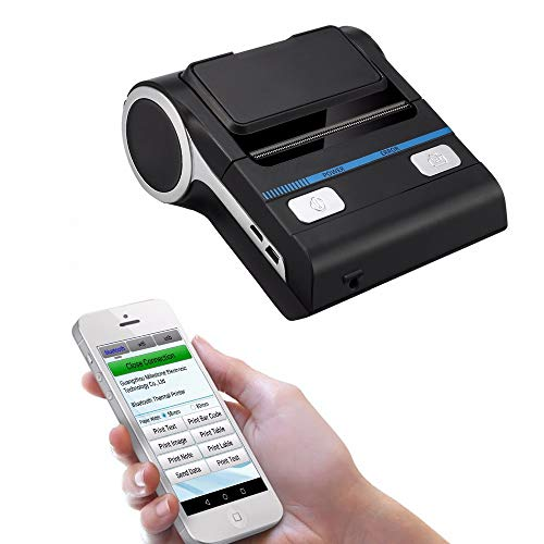 Receipt Printer vinmax Portable Wireless Receipt Thermal Printer 80mm ESC/POS Support Android iOS for Small Business Printing Machine