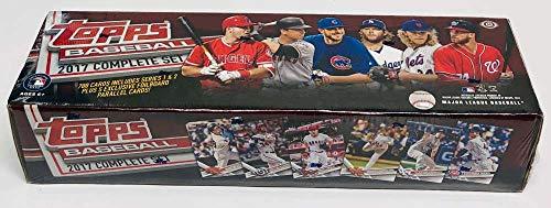 2017 Topps Complete Hobby Baseball Factory Set of 700 Cards (+5 Bonus Parallel Cards)