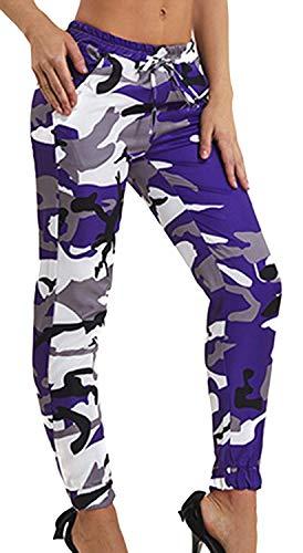 Dames camouflage broek modieus modern casual trekkoord elegante lente met sportbroek zomer outdoor beweging leger training joggingbroek vrijetijdsbroek dames broek