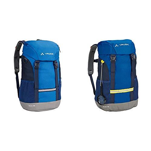 VAUDE Kinderrucksack Pecki 18 & Pecki 14 Kinder-Rucksack, blau