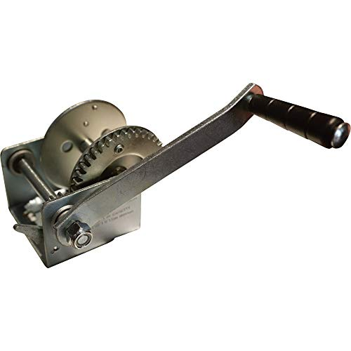 Why Choose Ultra-Tow Single Speed Hand Winch - 600-Lb. Load Capacity