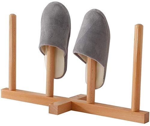 GLXLSBZ Zapatero Zapatero apilable de Madera Maciza para estantes de Zapatos Marco de Dormitorio para Entrada de Zapatos de baño - Capacidad para 2 Pares (decoración del hogar)