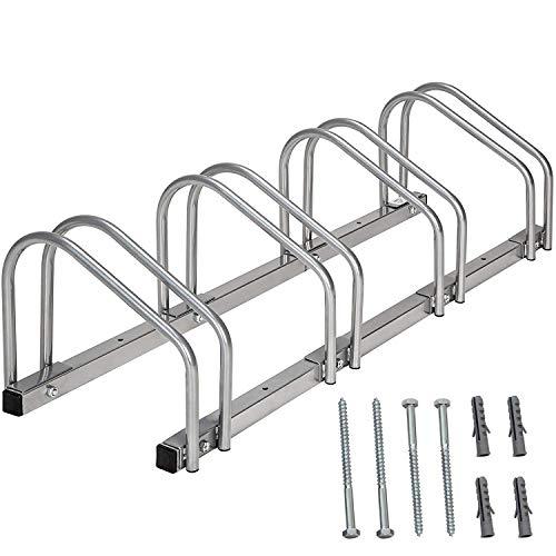 Sotech - Range Velo au Sol, Râtelier Familial pour Vélo,Support vélo,Range vélo,Peut contenir 4...