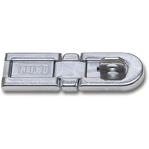 BURG WÄCHTER Anlegearbe mit Doppelgelenk, Länge 130 mm, Stahl verzinkt, PK 2