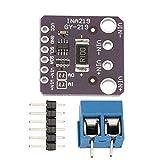 1 Pcs Gy-Ina219 Module de capteur de courant numérique haute précision I2C Module de capteur de rupture d'alimentation en courant continu bidirectionnel - Violet