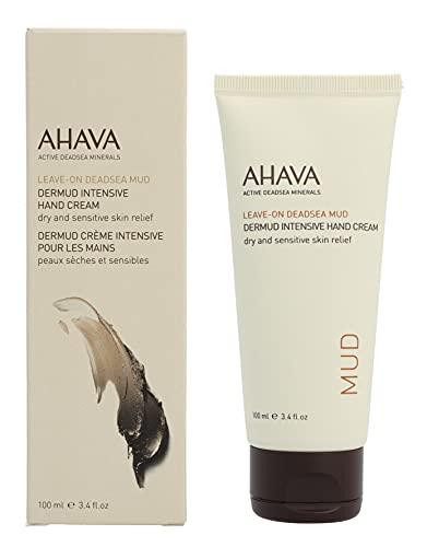 ahava cream for hands AHAVA Dermud Intensive Hand Cream, 3.4 Fl Oz