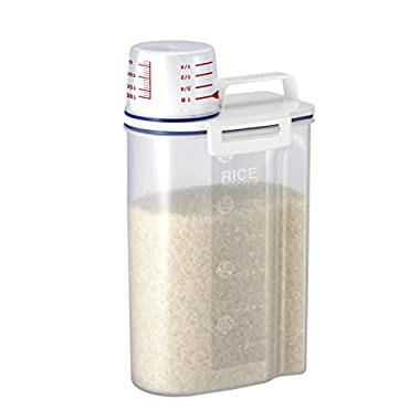 Rice Storage Bin with Pour Spout by Asvel 2kg
