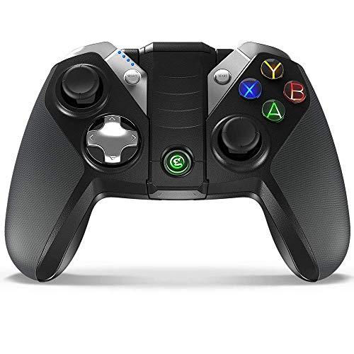 QCHEA Controlador de Juego inalámbrico Bluetooth Gamepad Joystick for teléfonos Inteligentes/tabletas/televisores/Cajas de TV