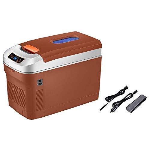 GAONAN Refrigerador del coche 25L portátil de coches y Home temperatura ajustable Pantalla Digital 12v 24v 220V caliente y fría refrigerador eléctrico portátil al aire libre mini portátil Enfriador de
