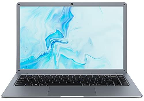 Jumper Laptop 14 Zoll 12GB DDR4 256GB SSD Notebook Intel Celeron N4020 Windows 10 FHD Dual-Band WiFi USB 3.0 Bluetooth 4.0 Unterstützung 256GB TF Karte Erweiterung mit QWERTZ Tastaturfolie-Layout