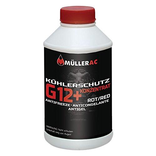 Muller G12 Lot de 10 antigel Rouge 1,5 l -72 C
