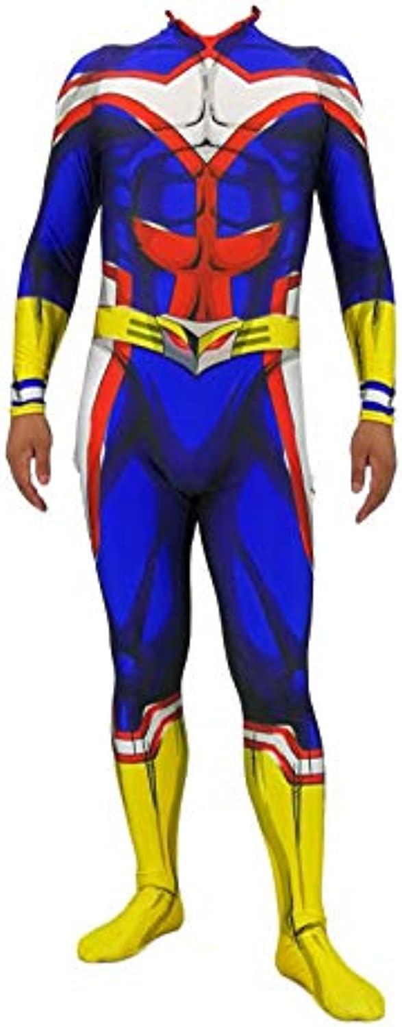 AllMight Clothing Anime Costumes My Hero College Cosplay Costume Full Set Of Clothing Tights Adult Halloween Cosplay AdultXXL