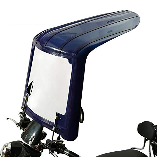 GFYWZ Universal Motorrad Regenschirm Sonnenschutz Regenschutz Auto Motorroller Wasserdichter Regenschirm Geeignet für Motorräder mit Spiegeln,5
