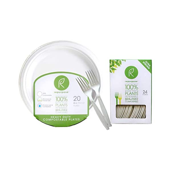 """Repurpose 100% Compostable Plant-Based Dessert Pack 