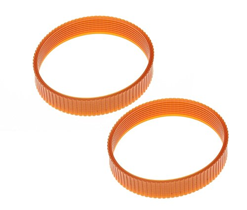 2 Pack Replacement Planer Drive Belt 5140010-28 for DeWalt DW735 DW735X Planer
