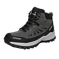[イノヤ] アウトドアシューズ トレッキングシューズ メンズ ローカット 4e ハイキングシューズ メンズ 登山靴 アウトドアシューズ メンズ 防水 幅広 4E スニーカー シューズ 靴 ウォーキング 耐摩耗性