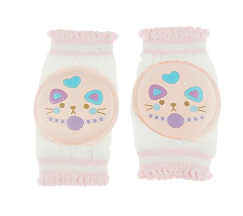 Glamour Girlz - Ginocchiere imbottite per bambini, per bambine, colore: Rosa